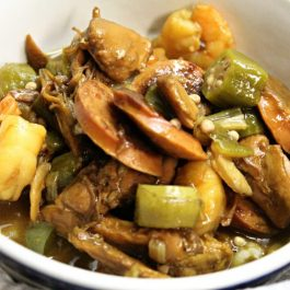 Image of Shrimp and Sausage Gumbo - Shrimp and sausage gumbo recipe - Kultural Kreations