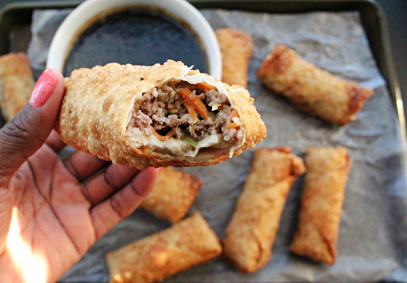 Image of Beef Egg Rolls - Beef egg roll recipe - Kultural Kreations