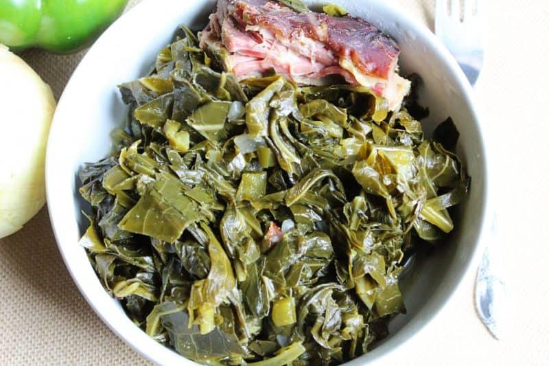 Image of Country Style Collard Greens - Collard green recipe - Kultural Kreations