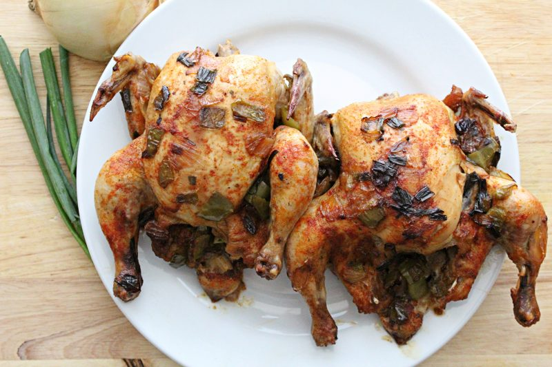 Image of Oven Roasted Cornish Hen - Oven roasted chicken - Kultural Kreations