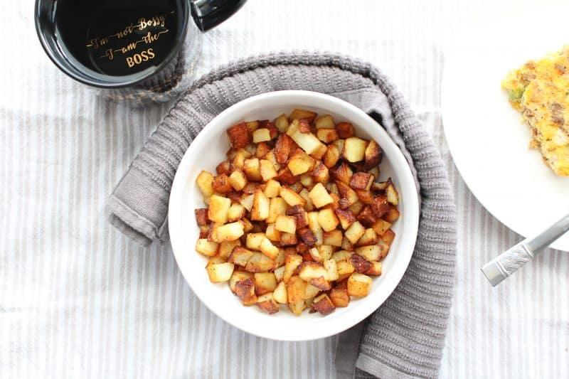 Image of Fried Breakfast Potatoes - Fried potatoes - Kultural Kreations