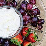 Image of Deliciously Creamy Fruit Dip - Deliciously Creamy Fruit Dip recipe - Kultural Kreations