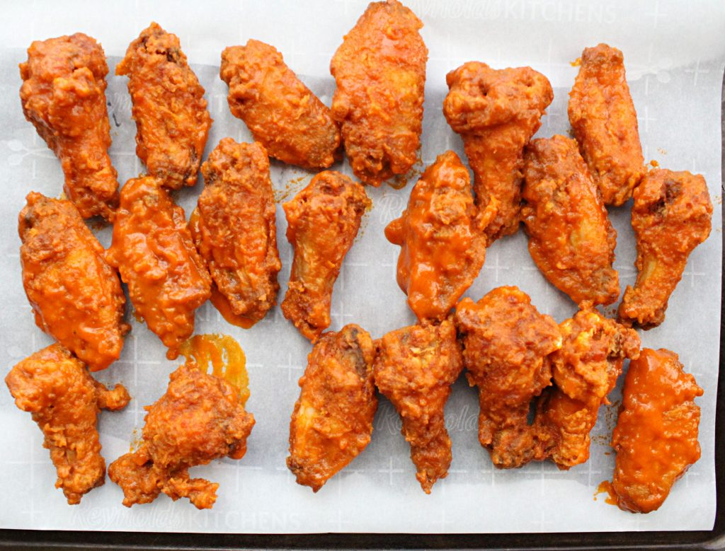 Fried Hot Wings