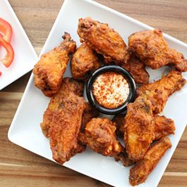 Image of Fried Hot Wings - Fried Hot Wing recipe - Kultural Kreations