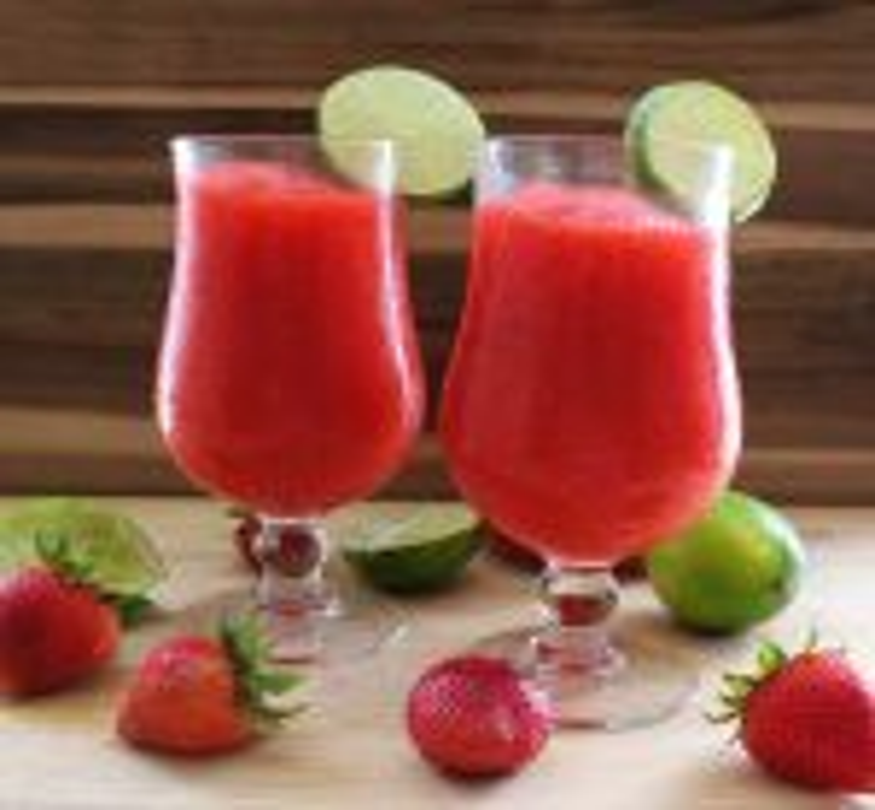 Image of Strawberry Cranberry Daiquiri - Frozen Strawberry Cranberry Daiquiri recipe - Kultural Kreations