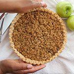 Green Apple Crumble Pie