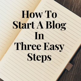 Image of How to start a blog in three easy steps graphic - How to start a blog on wordpress - Kultural Kreations