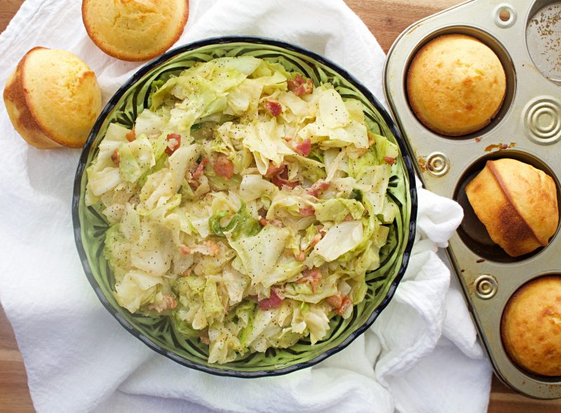 Image of The Best Southern Fried Cabbage - Kultural Kreations