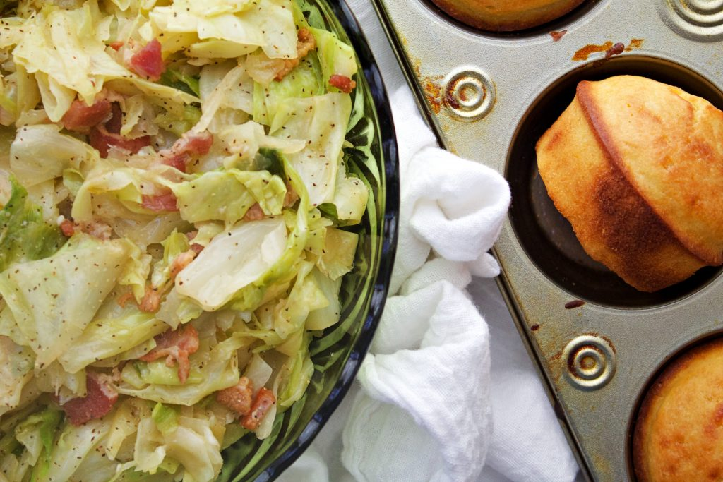 The Best Southern Fried Cabbage