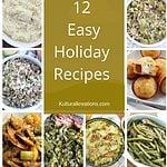 12 Easy Holiday Recipes