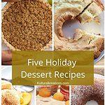 Five Holiday Dessert Recipes