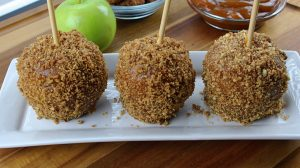 Image of Praline Caramel Apples - Easy Caramel apples - Kultural Kreations