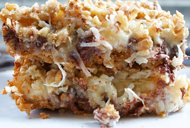 Image of 7 Layer Bars- Magic Bars - Kultural Kreations