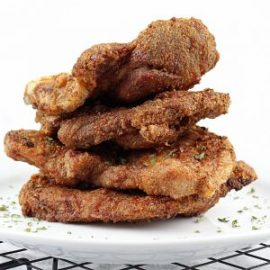 Image of Air Fryer Pork Chops - Air Fryer Pork Chop recipe - Kultural Kreations