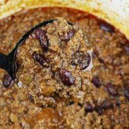 Image of Homemade Chili - Homemade Chili Recipe - Kultural Kreations