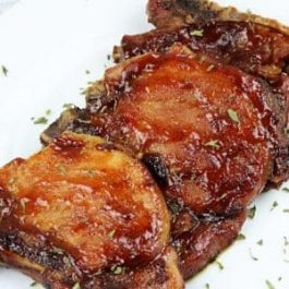 Image of Barbecue Pork Chops - Barbecue Pork Chops Recipe - Kultural Kreations