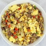 Potato, Sausage and Egg Breakfast Bowl