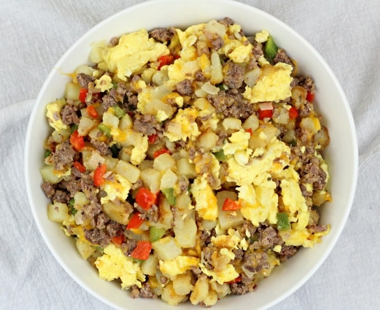 Image of Potato, Sausage and Egg Breakfast Bowl - Potato, Sausage and Egg Breakfast Bowl recipe - Kultural Kreations