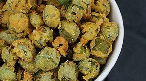 Image of Fried Okra - Fried Okra recipe - Kultural Kreations
