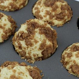 Image of Sour Cream Coffee Cake Muffins - Sour Cream Coffee Cake Muffins recipe - Kultural Kreations
