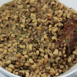 Image of New Year's Black Eyed Peas - New Year's Black Eyed Peas recipe - Kultural Kreations