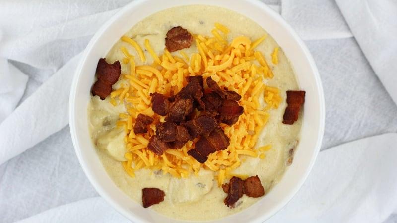 Image of Loaded Baked Potato Soup - Loaded Baked Potato Soup recipe - Kultural Kreations