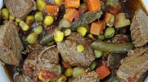 Image of Vegetable Beef Soup - Vegetable Beef Soup recipe - Kultural Kreations